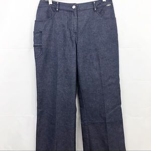 St.John Sport Pants Pleated Front Stretch